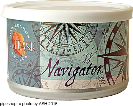"Трубочный табак ""G.L.PEASE"" Old London Series NAVIGATOR, банка 57 г."