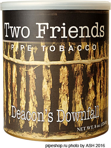 Трубочный табак TWO FRIENDS DEACON`S DOWNFALL, банка 227 г.
