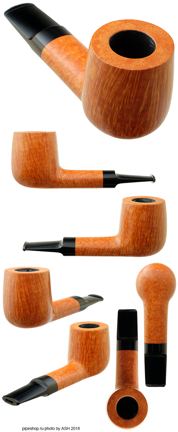 Курительная трубка TEDDY KNUDSEN SMOOTH OVAL SHANK BILLIARD Grade EAGLE
