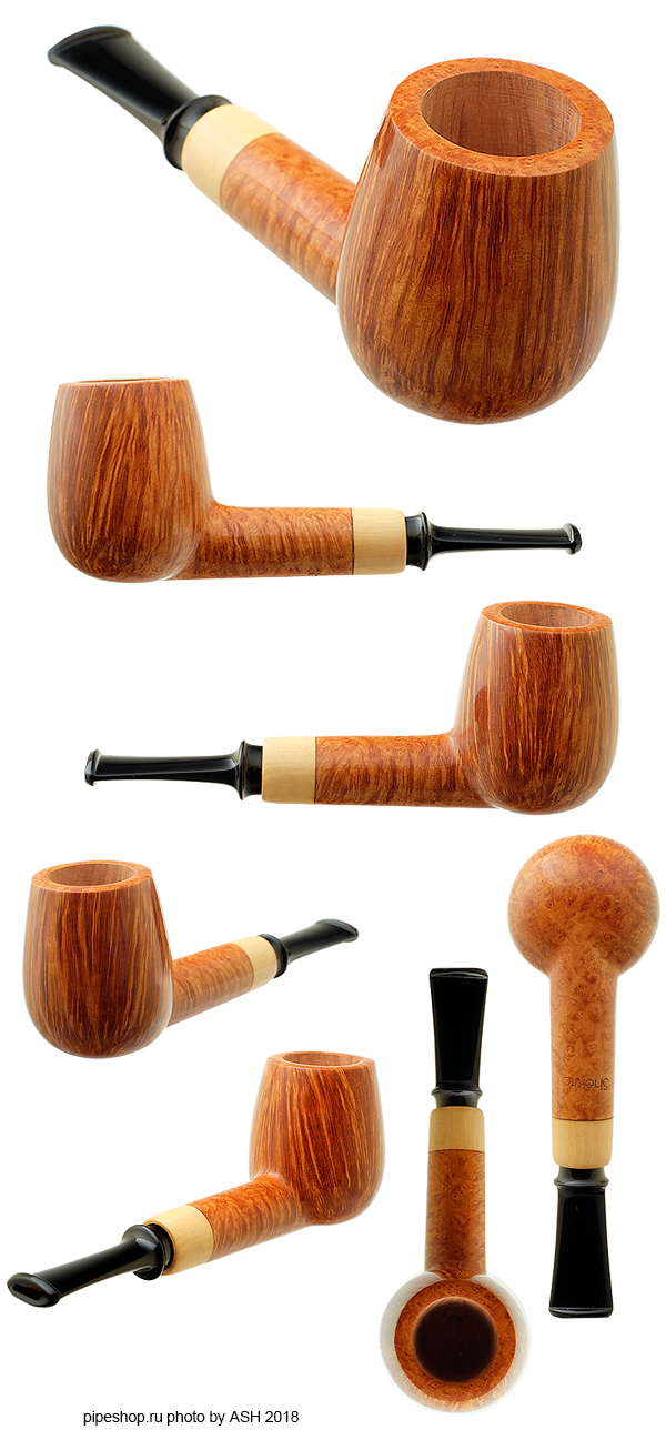 Курительная трубка SHEKITA SMOOTH BILLIARD WITH BOXWOOD