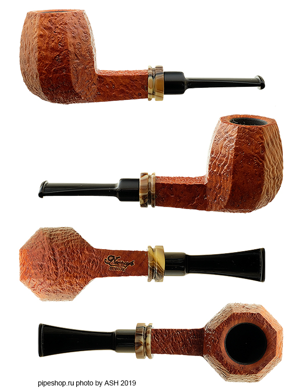 Курительная трубка NEERUP TAN SANDBLAST PANELED BILLIARD