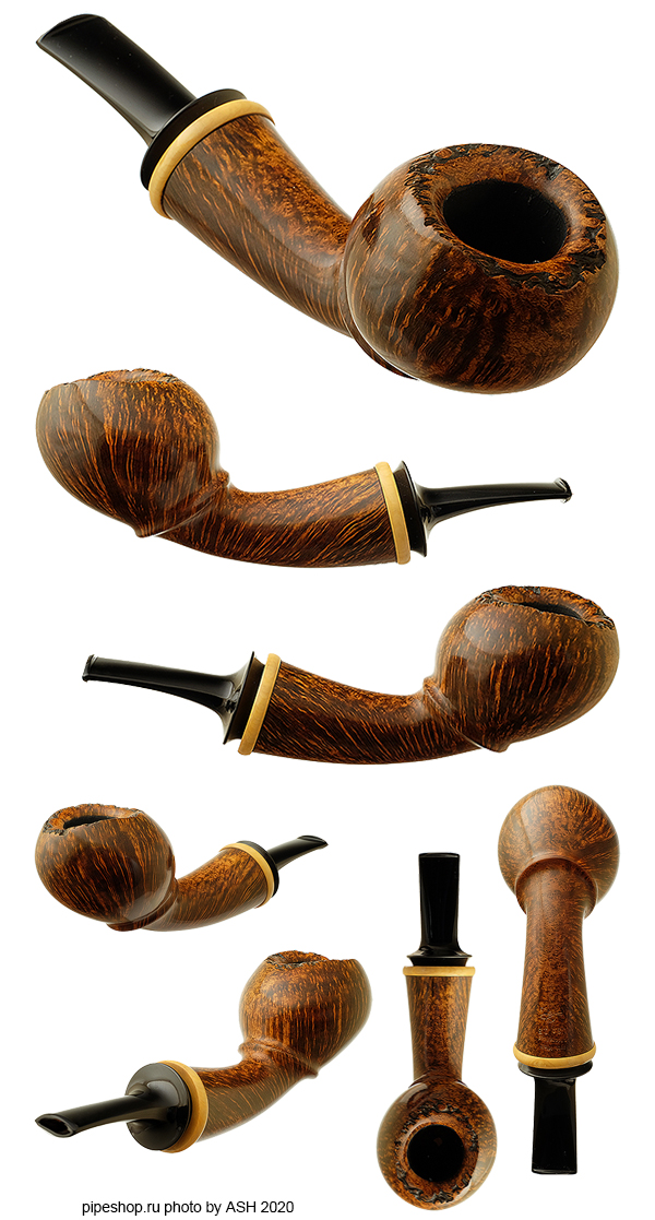 Курительная трубка SCOTT KLEIN SMOOTH BENT ACORN WITH BOXWOOD Grade SIGNATURE
